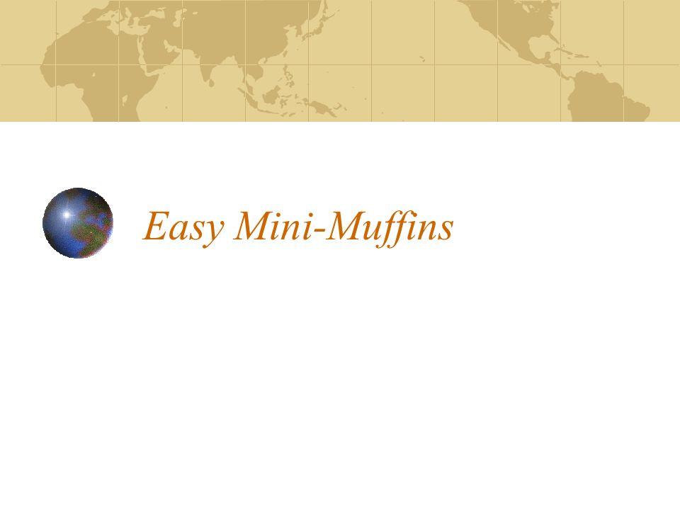 Easy Mini-Muffins