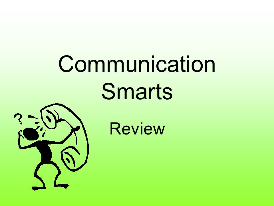 Communication Smarts Review
