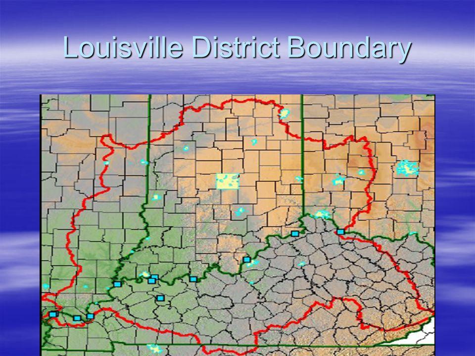 Louisville District Boundary