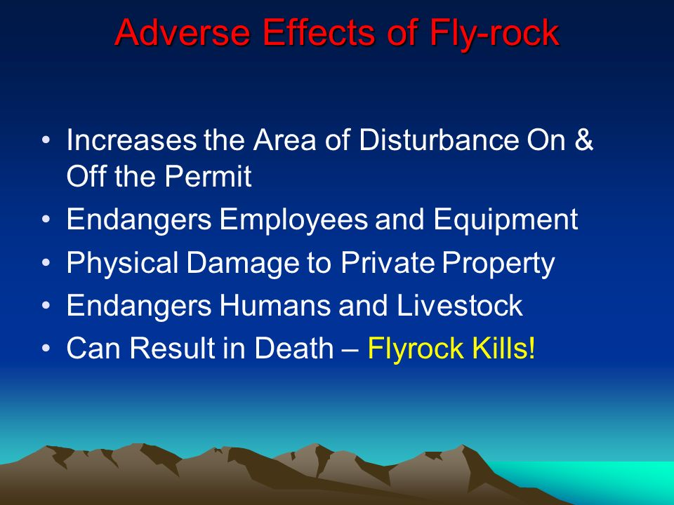 TWO PRINCIPLES MUST BE KEPT IN MIND DURING THE DESIGN PROCESS Explosives Function Best When There is a Free Face Approximately Parallel to the Explosives Column at the Times of Detonations There Must be Adequate Space into Which the Broken Rock can Move and Expand
