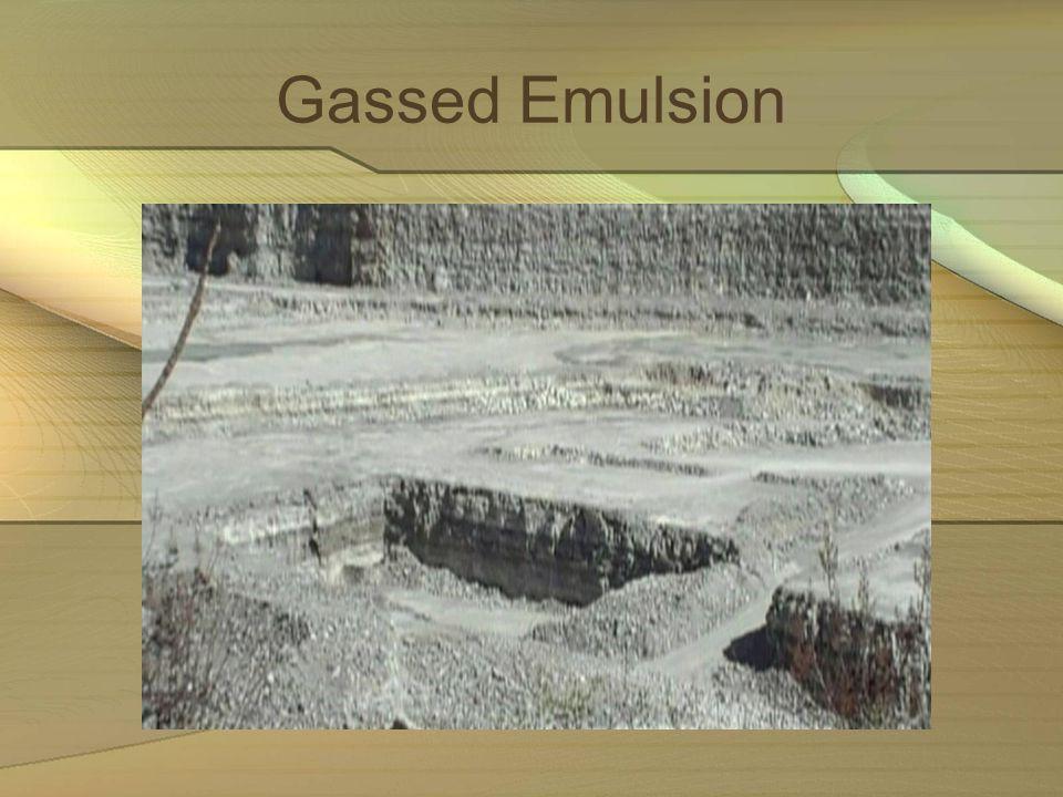 Gassed Emulsion