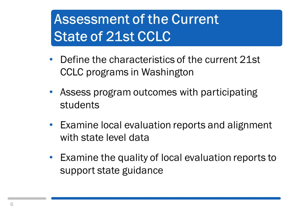 7 Data Sources 21st CCLC Profile and Performance Information Collection System (PPICS) Grantee and center level From APR 2010 45 local evaluation reports prepared for the 2009-10 reporting period