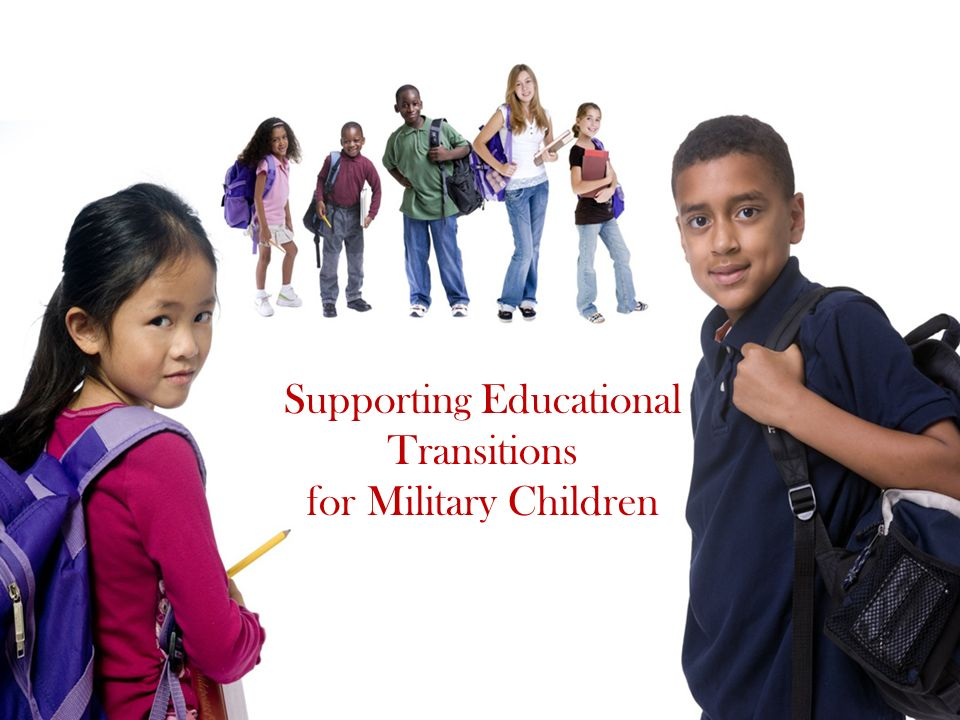 Supporting Educational Transitions for Military Children
