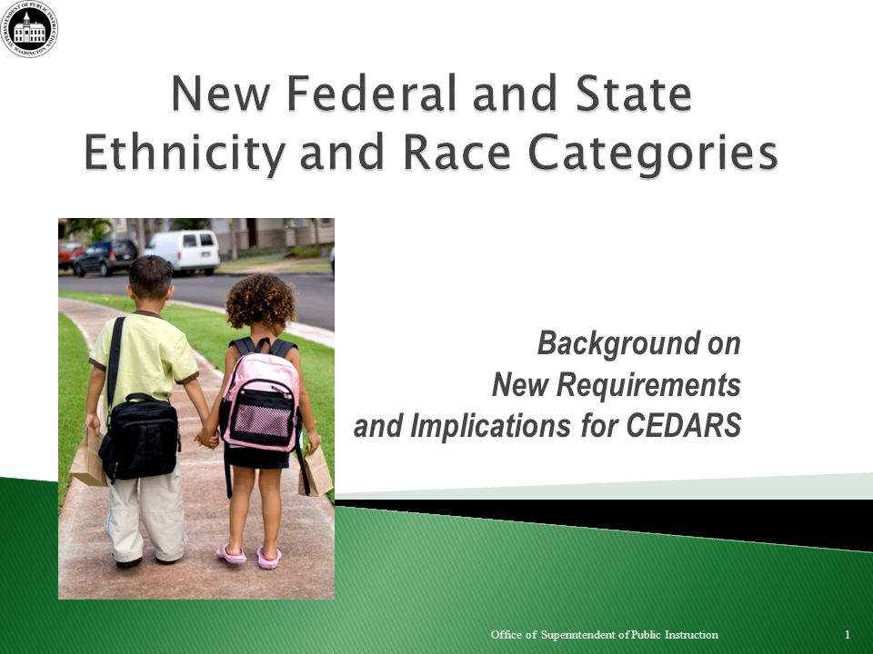 Background on New Requirements and Implications for CEDARS 1 Office of Superintendent of Public Instruction