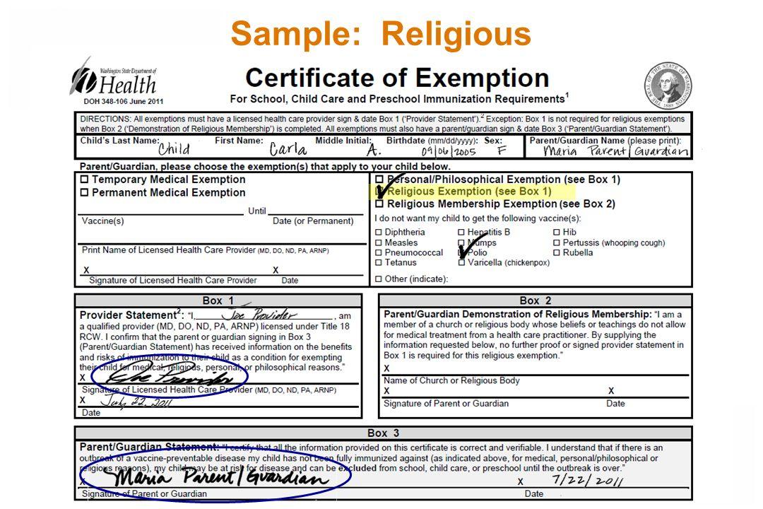 Sample: Religious