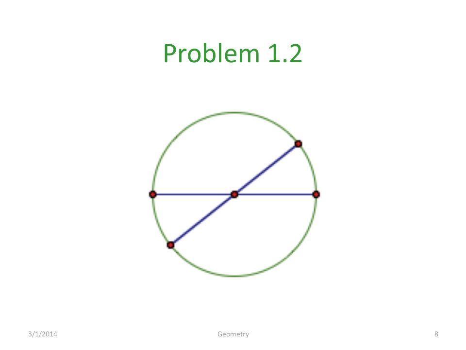 Problem 1.2 3/1/20148Geometry
