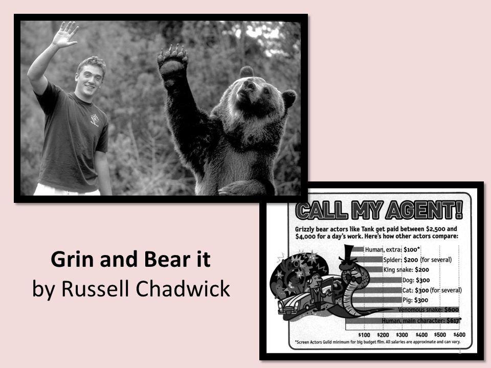 Grin and Bear it by Russell Chadwick 1