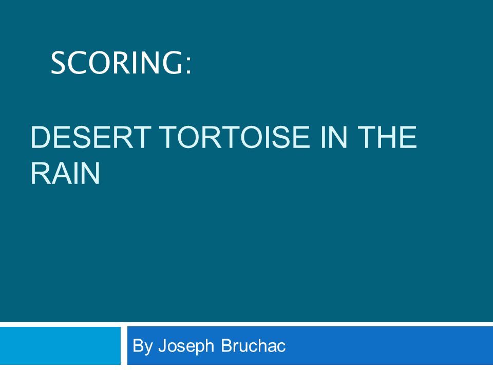 23 Why does the tortoise begin his trek back toward the Mohave.