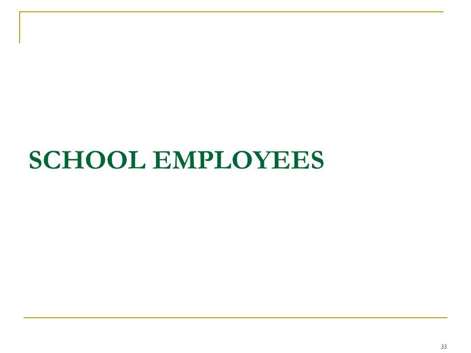SCHOOL EMPLOYEES 35