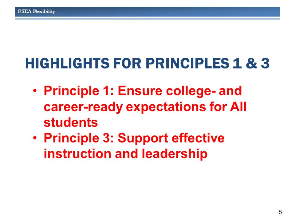 ESEA Flexibility Package USED/OSPI REQUIREMENT FOR FOCUS SCHOOLS Implement SIP aligned with meaningful interventions that address the unique needs of the school and its students and informed by Needs Assessment 29