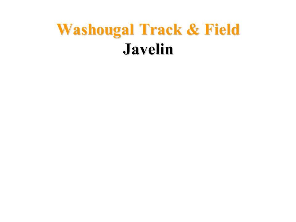 Washougal Track & Field Javelin