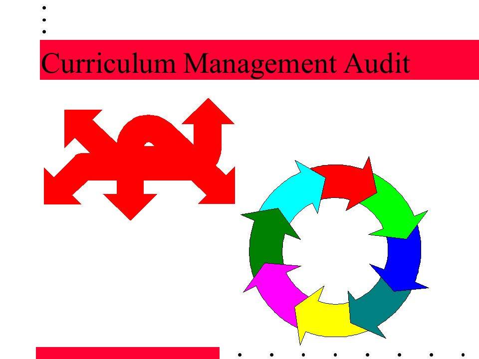 The Curriculum Audit The Principle/Practice of TRIANGULATION The use of multiple methods of data gathering in order to verify findings in the audit.