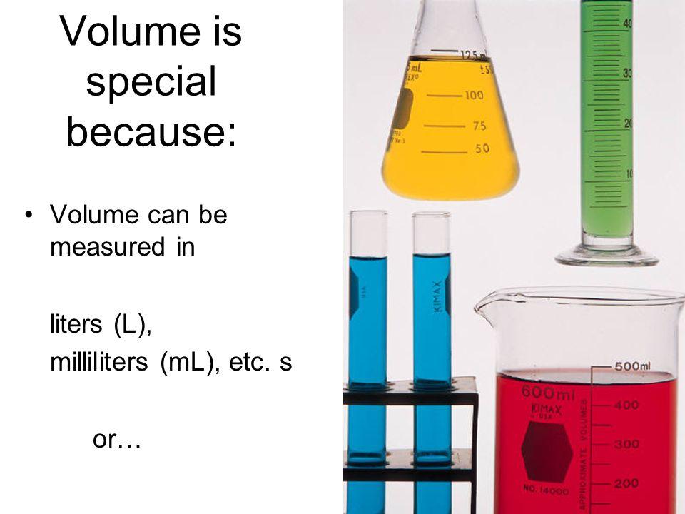 …by using water as a standard: 1 kg H 2 O 1 L H 2 O (10 cm) 3 H 2 O 1000 cm 3 H 2 O http://www.metricamerica.com/images/Export00_288.mov 1g H 2 O 1 mL H 2 O
