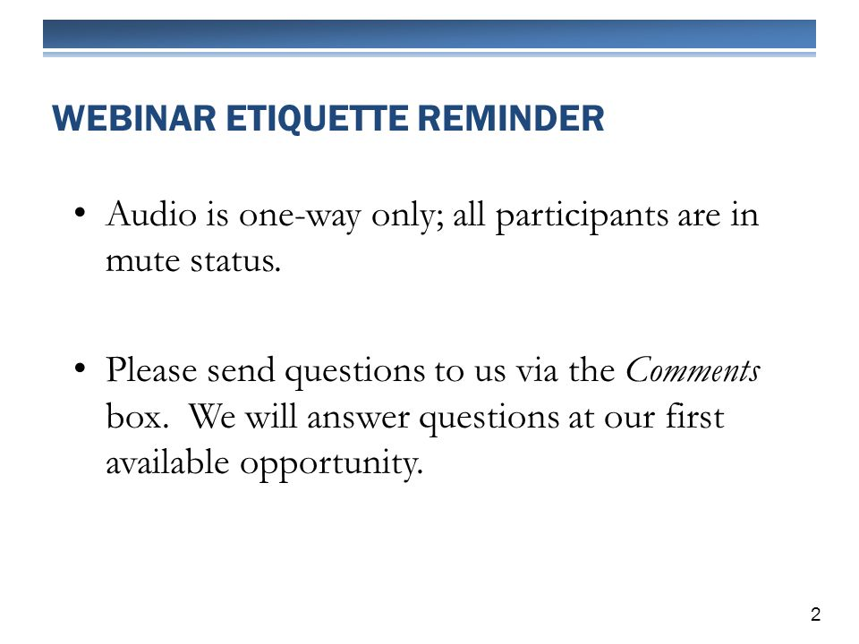 Audio is one-way only; all participants are in mute status.
