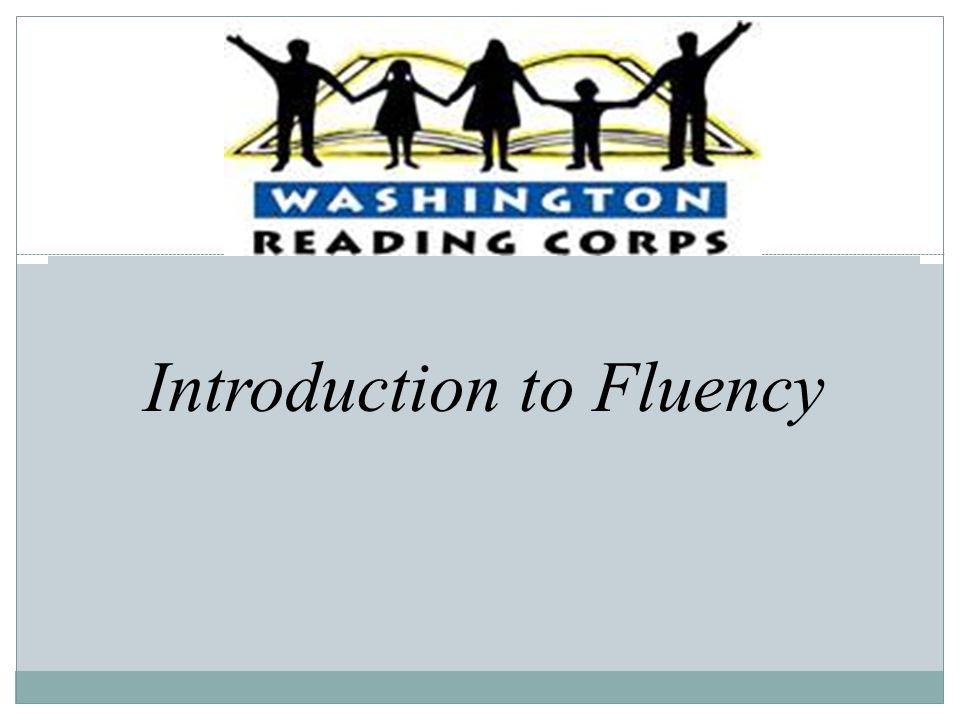 Introduction to Fluency