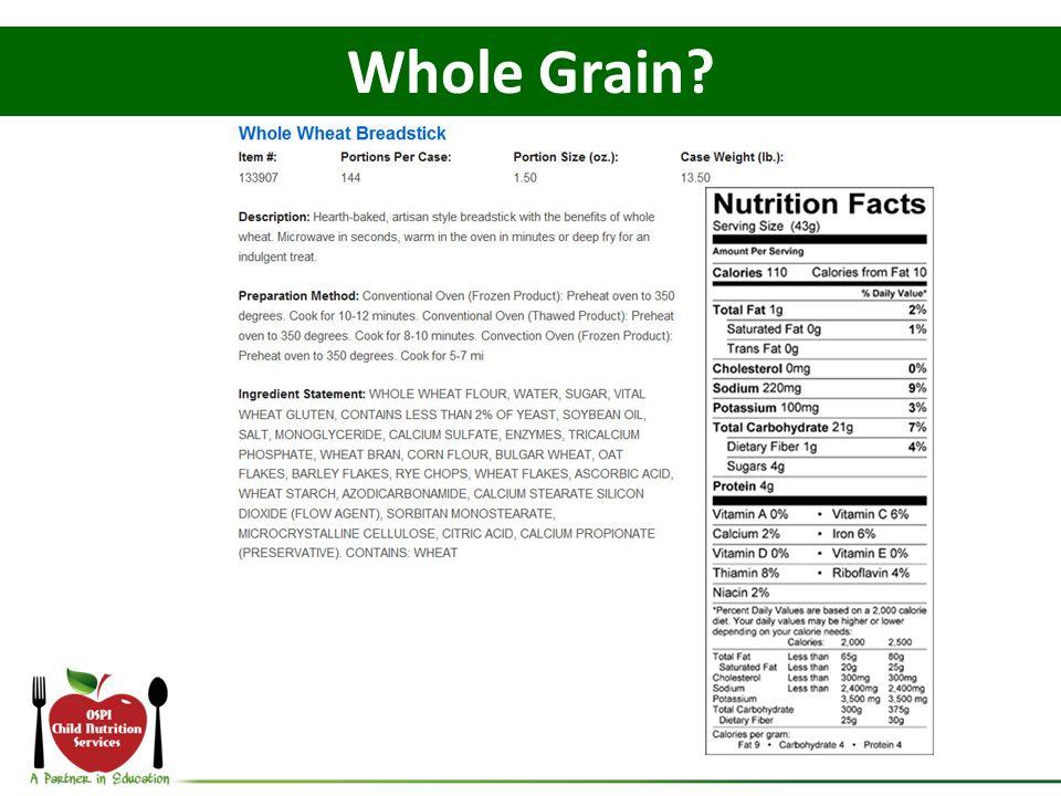 Whole Grain?
