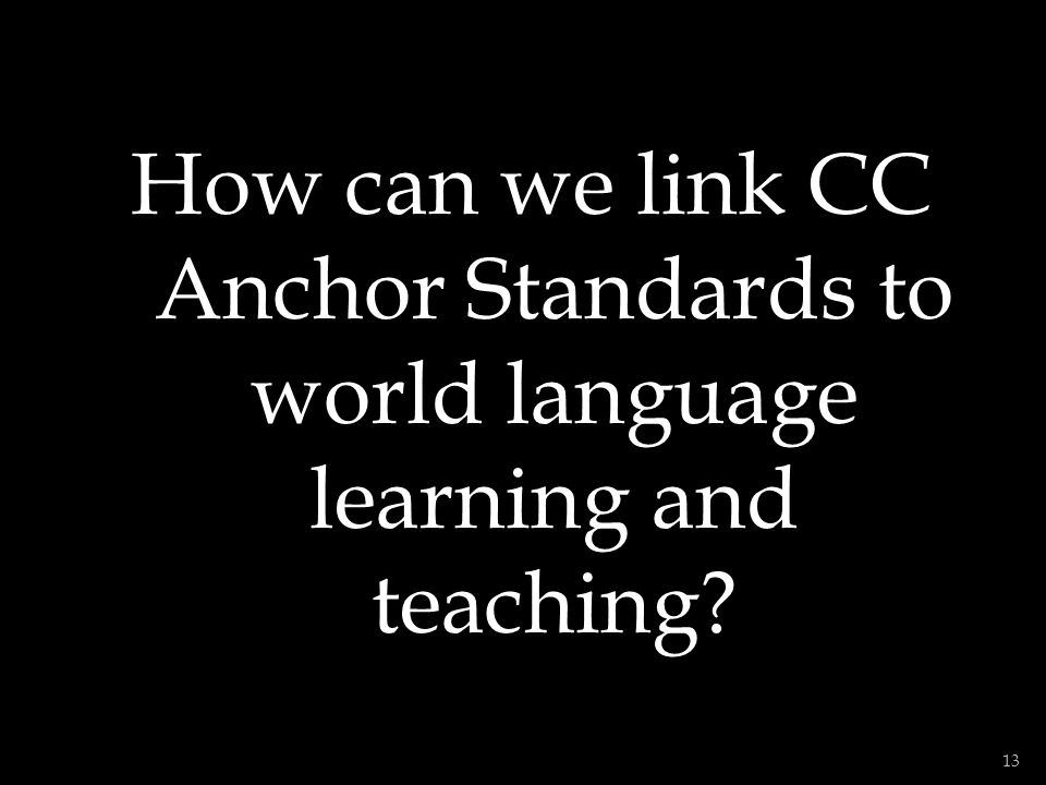 1.Review the Standards for Learning Languages (5 Cs) if you need to.