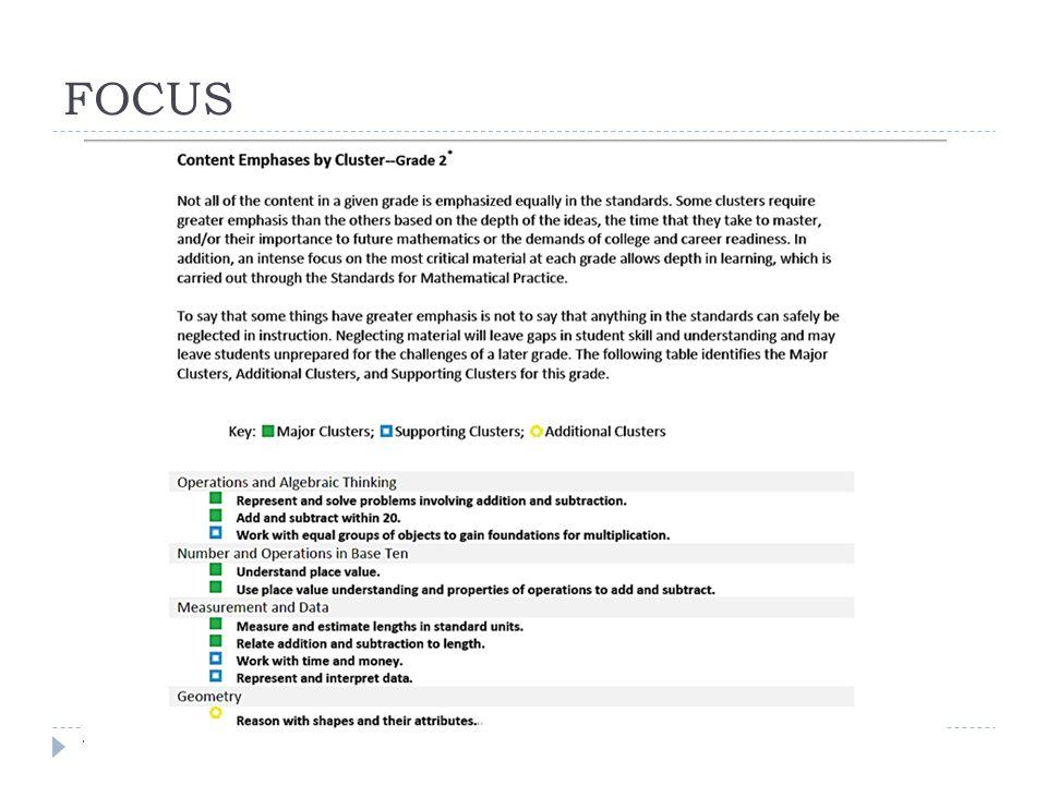 FOCUS CCSSM Webinar 12/18/1213