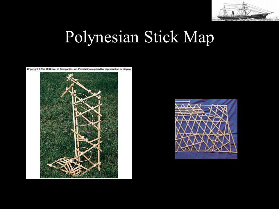Polynesian Stick Map