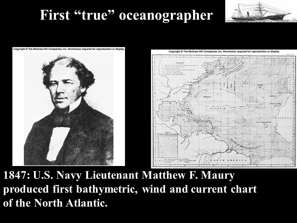 1847 Maury 1847: U.S.Navy Lieutenant Matthew F.