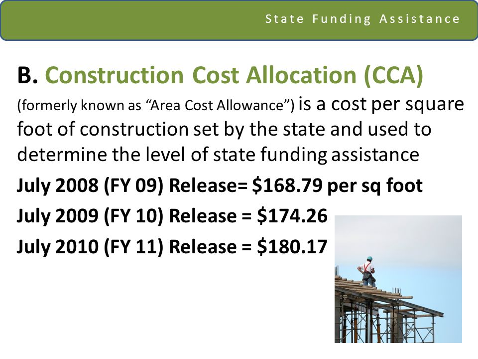 State Funding Assistance B.