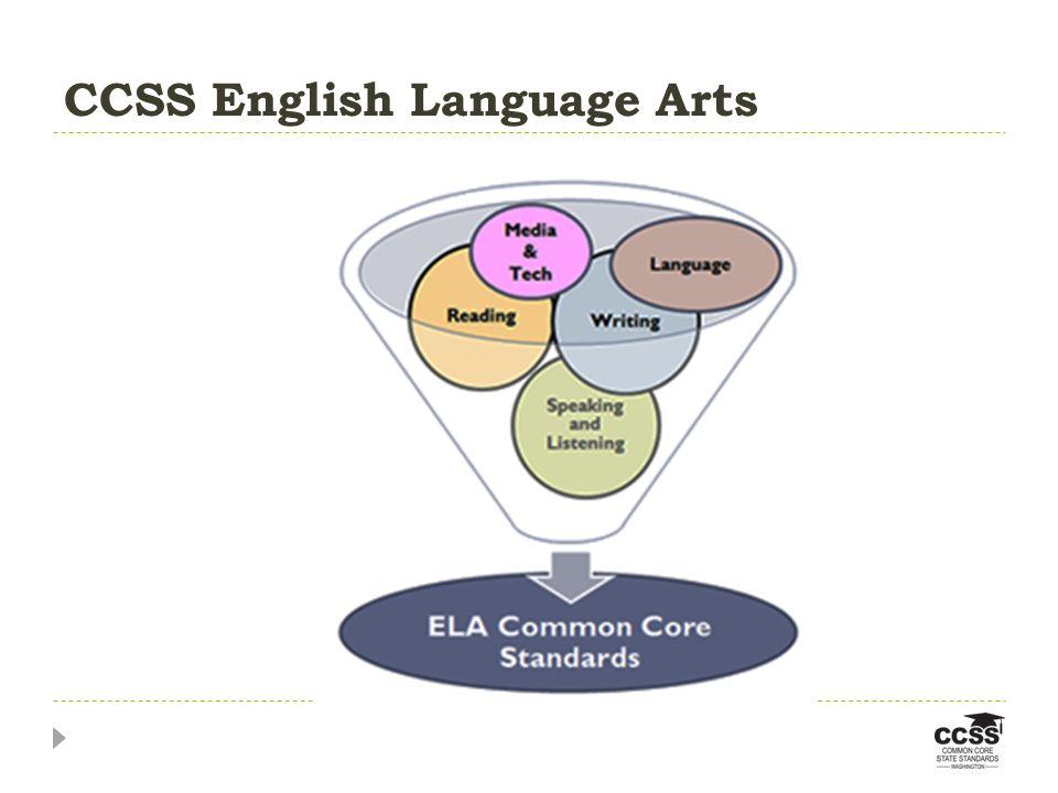 CCSS English Language Arts
