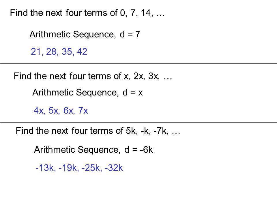 Rewrite using sigma notation: 19 + 18 + 16 + 12 + 4 Not Arithmetic, Not Geometric 19 + 18 + 16 + 12 + 4 -1 -2 -4 -8
