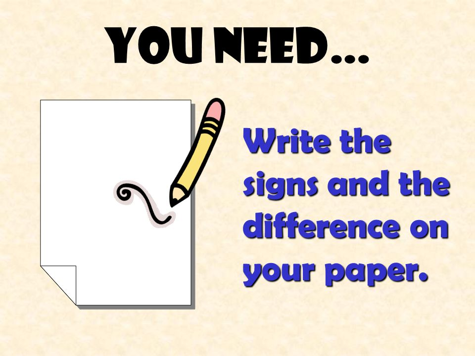 You need… Number your paper 1-16.