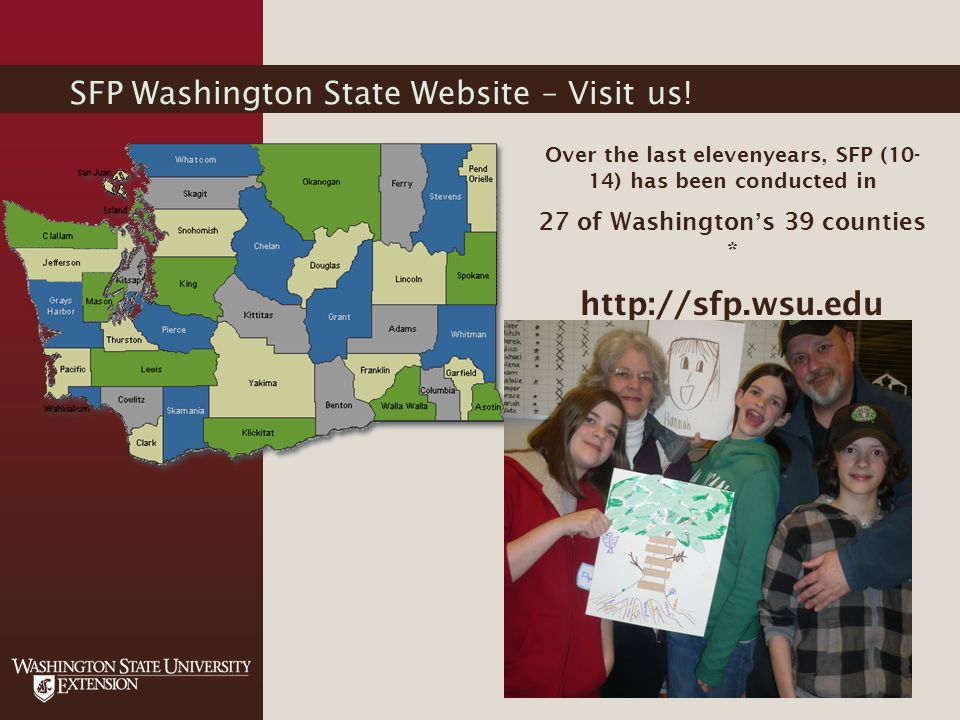 SFP Washington State Website – Visit us.