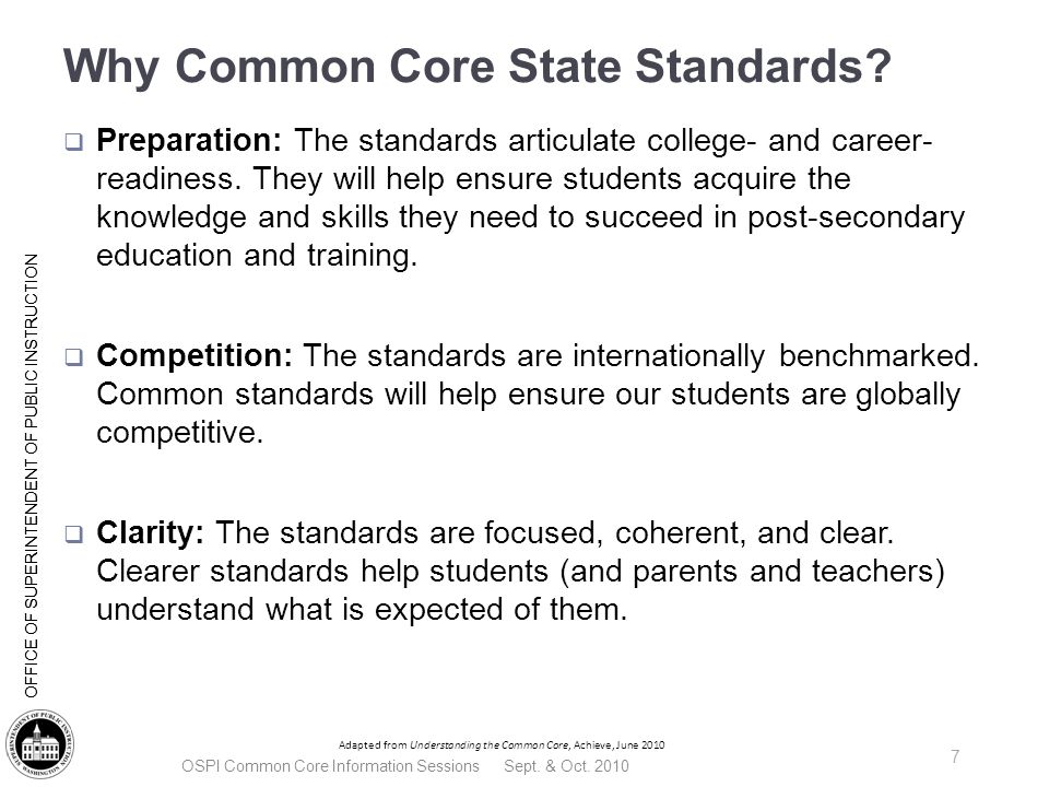 | Slide 38 OFFICE OF SUPERINTENDENT OF PUBLIC INSTRUCTION What does it look like.