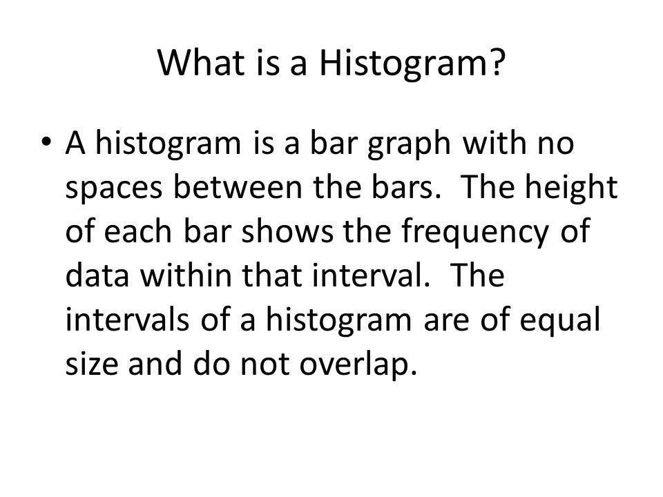 Histogram Frequency Test Scores Class Test Scores