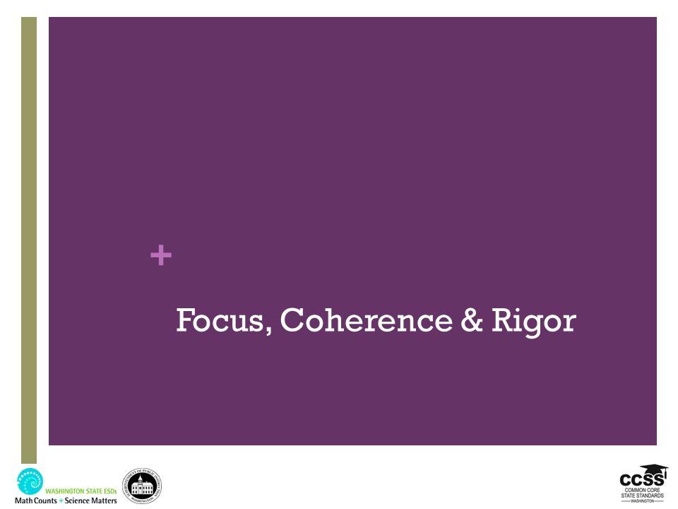 + Focus, Coherence & Rigor