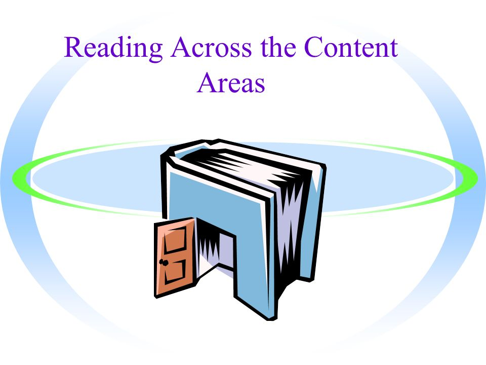 Reading Across the Content Areas