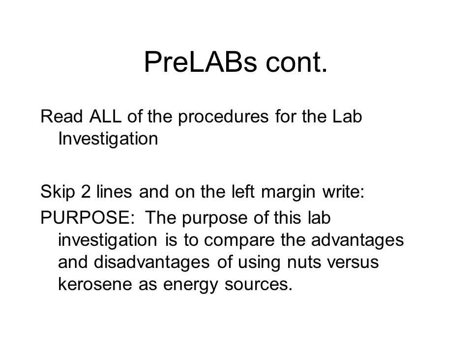 Procedures cont.Determine the mass of a piece of foil.