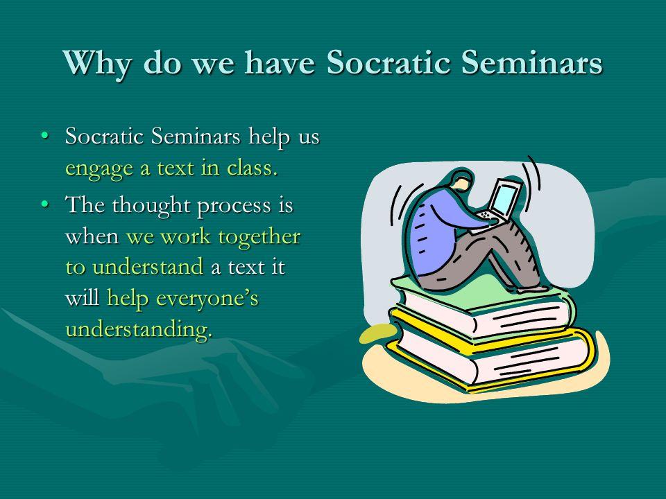 How do we prepare for a Socratic Seminar.