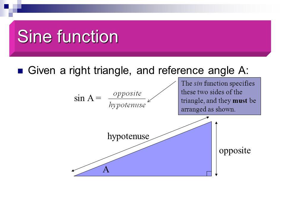 Solve for θ: 0.7987 = sin θ 0.9272 = cos θ 2.145 = tan θ Review
