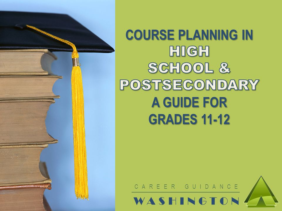 MAKE THE MOST OF HIGH SCHOOL Use the rest of your time in high school wisely Make a High School & Beyond Plan based on your goals Research postsecondary programs Take the courses you need to be admitted to postsecondary