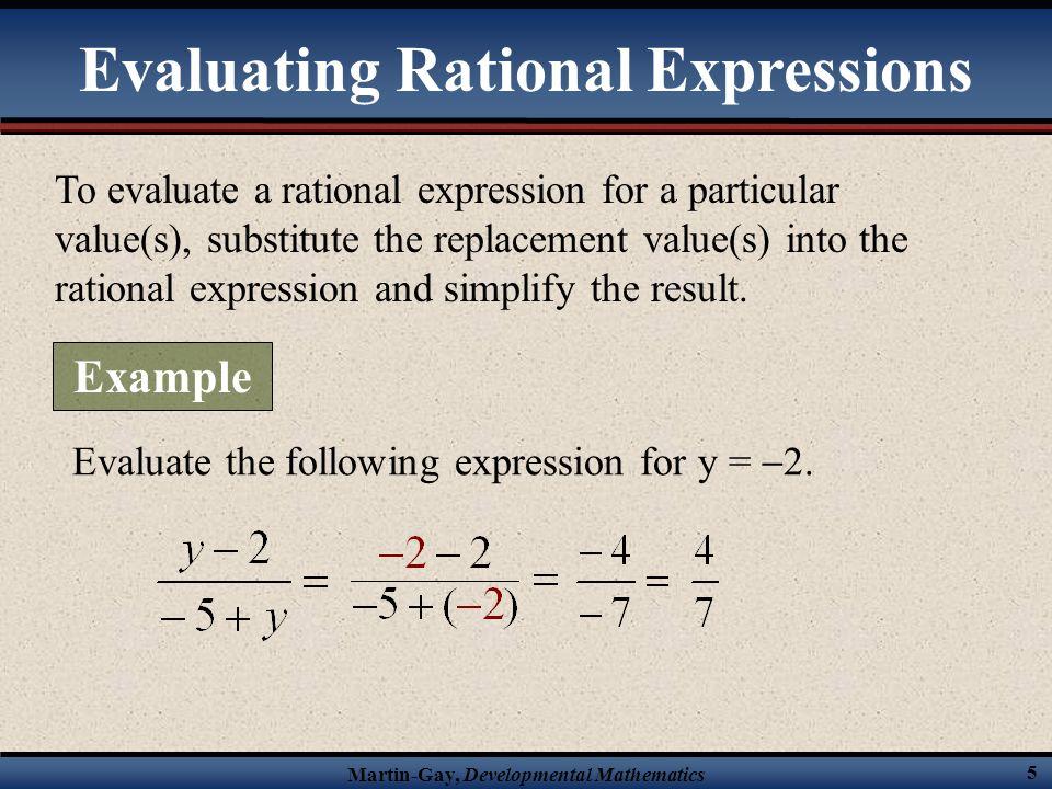 Martin-Gay, Developmental Mathematics 85 Example Simplifying Complex Fractions