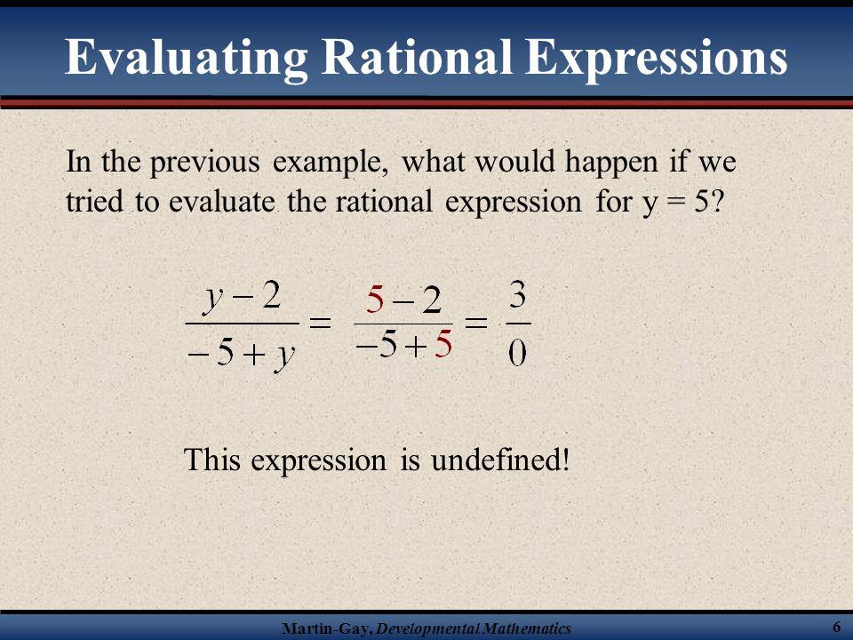 Martin-Gay, Developmental Mathematics 46 true Solve the following rational equation.