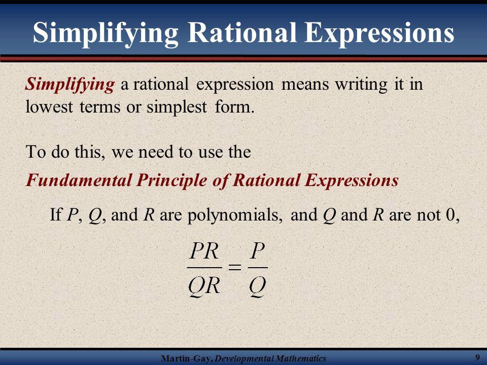 Martin-Gay, Developmental Mathematics 49 Solve the following rational equation.