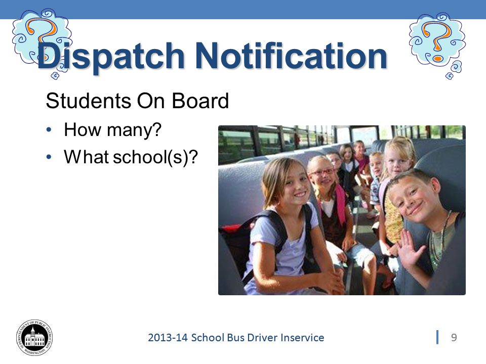 302013-14 School Bus Driver Inservice 30 Post Collision – Report Details