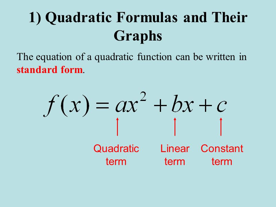 "Presentation ""5.1 Modeling Data with Quadratic Functions 1 ..."
