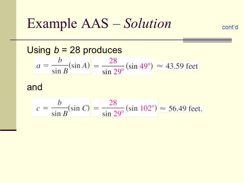 How many solutions are there.1. A = 30 o a = 5b = 3 2.