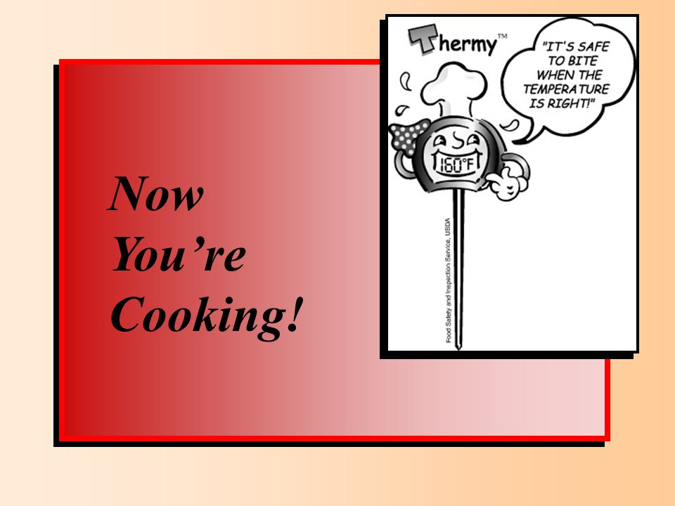 Now Youre Cooking!
