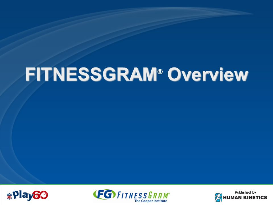 Objectives Understand the FITNESSGRAM philosophy Know 5 health-related components Know difference in health-related and skill-related fitness Know why we measure student fitness level