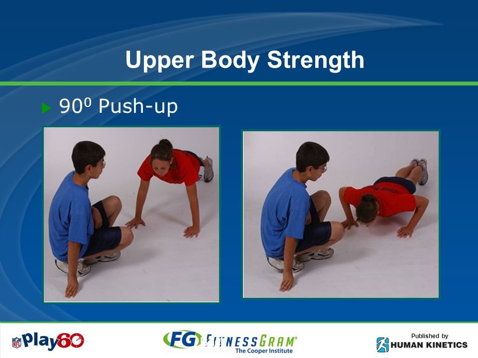 Published by Upper Body Strength 90 0 Push-up