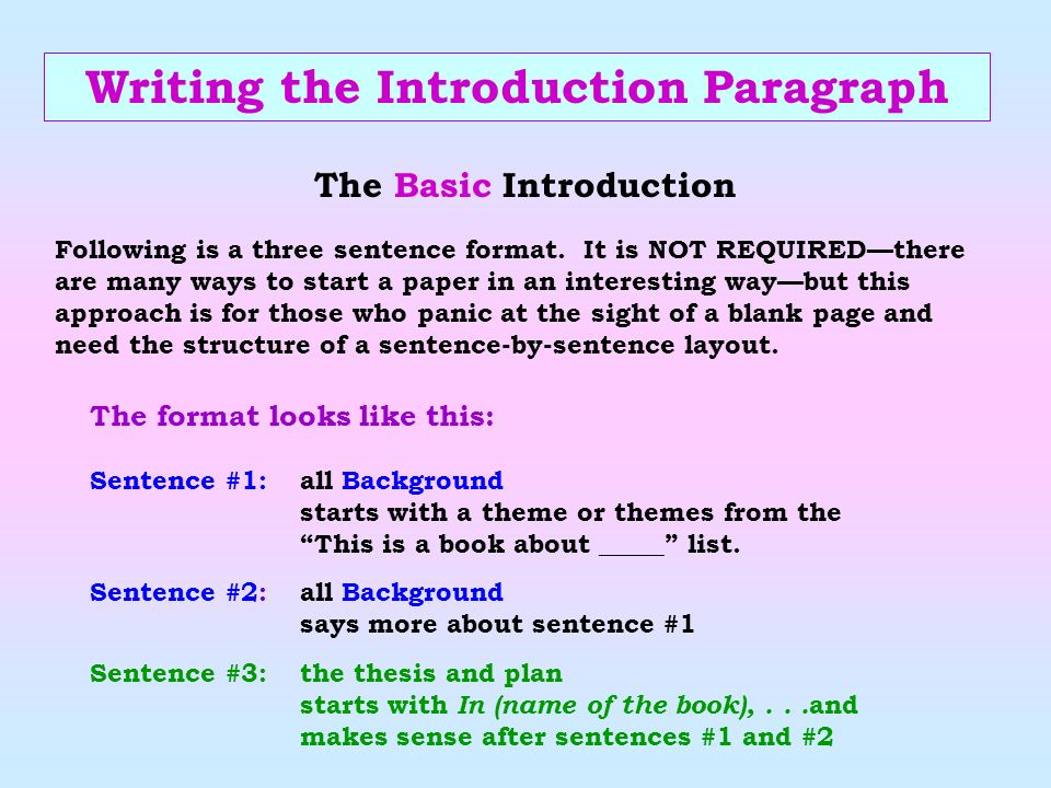 the things they carried by tim o brien ppt 6 writing the introduction paragraph