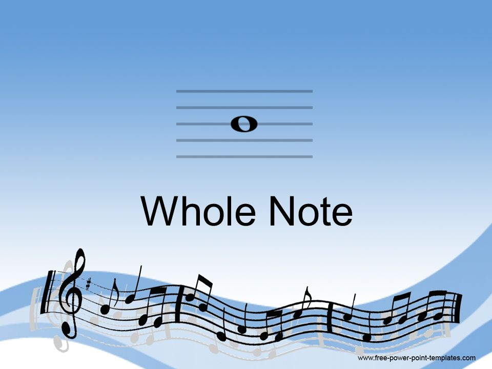 Whole Note