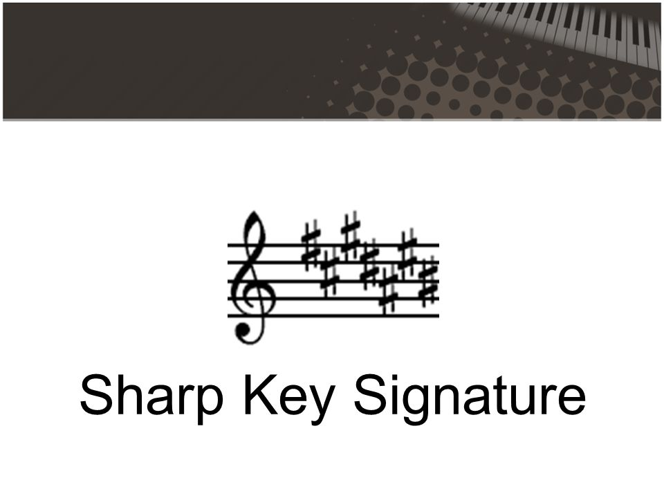 Sharp Key Signature