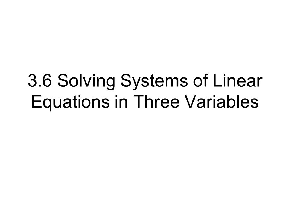 Warm-Up No Solution Infinitely many solutions